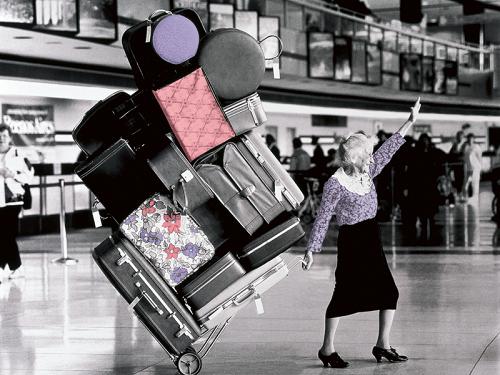 nagyi, nagymama, utazás