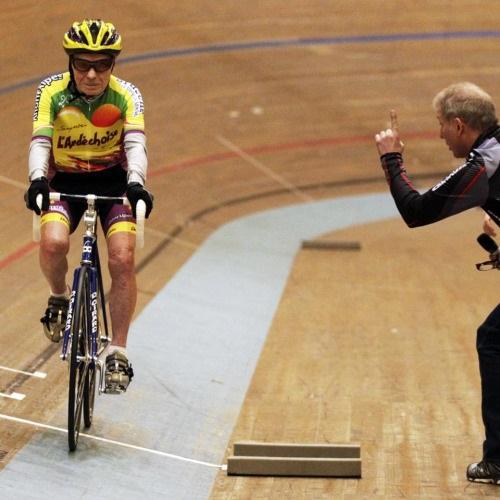 Robert Marchand, 100 éves, kerékpáros