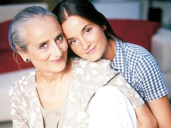 Nagy Anna és lánya: Huszárik Kata