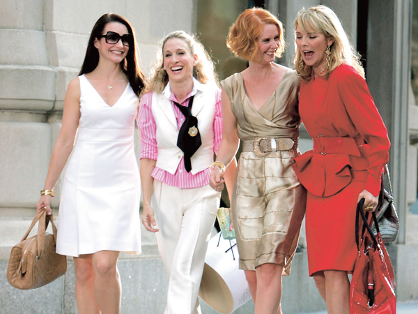 "On Location for ""Sex and the City: The Movie"" - September 21, 2007"