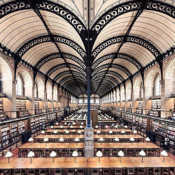 Sainte Geneviéve-könyvtár