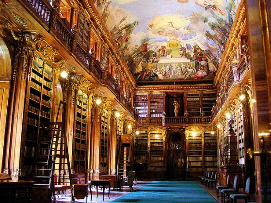 strahovi-monostor-könyvtára