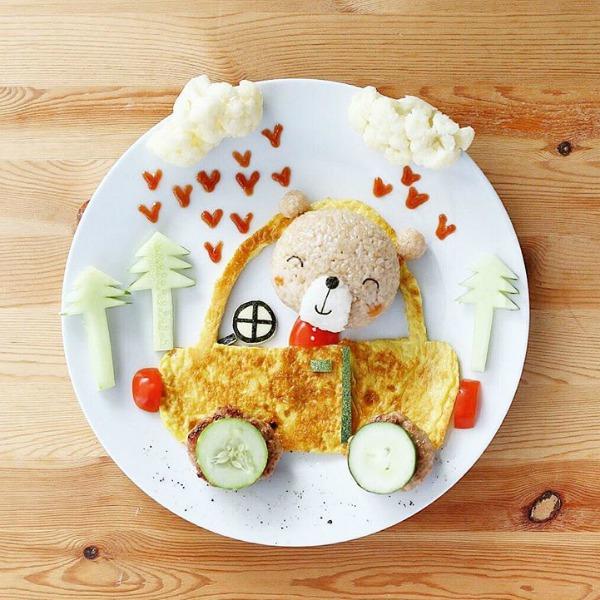 food-art-medve