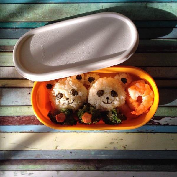 food-art-pandák