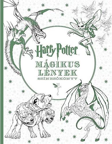 színezőkönyv-harry-potter-mágikus-lények