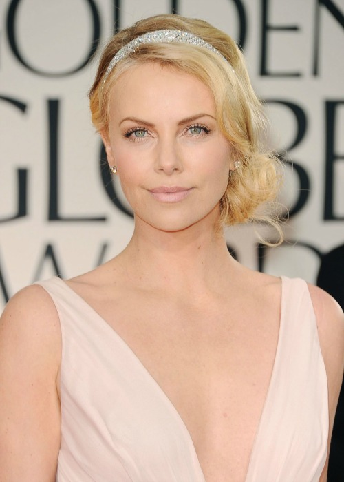 Charlize Theron at 69th Annual Golden Globe Awards in Los Angeles