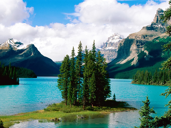 maligne-lake-kanada