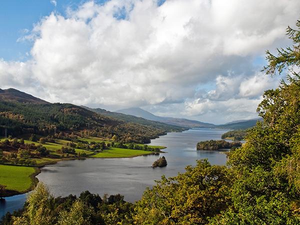 Queen's-View-Loch-Tummel-Perthshire-skócia