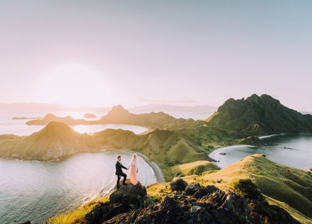 Padar Islands, Indonesia