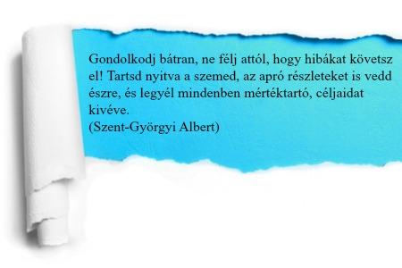 szent-györgyi-albert-idézet