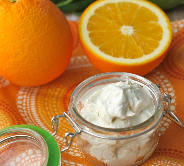 narancsos testápoló vaj