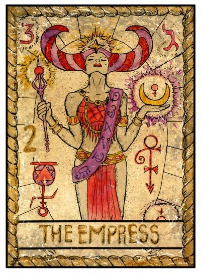tarot-a-császárnő