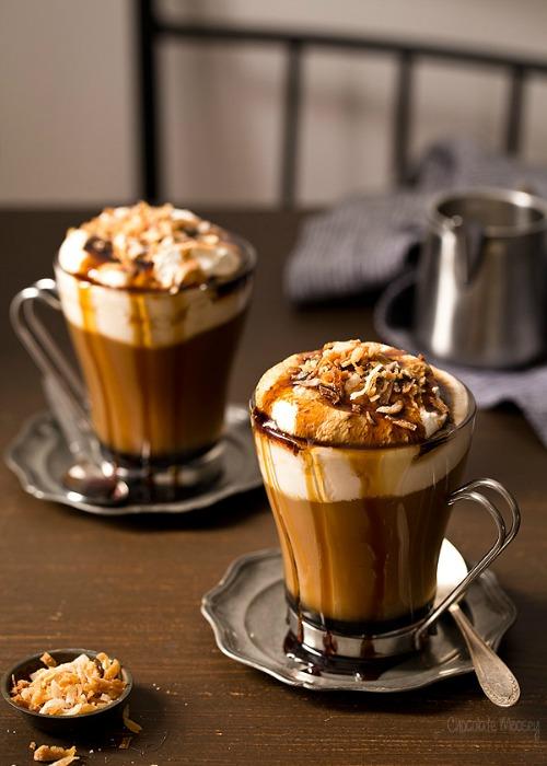 kókuszos-kávé