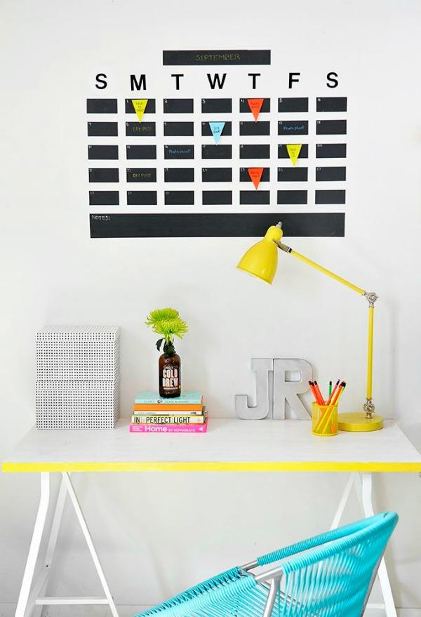 Chalkboard-Tape-Wall-Calendar
