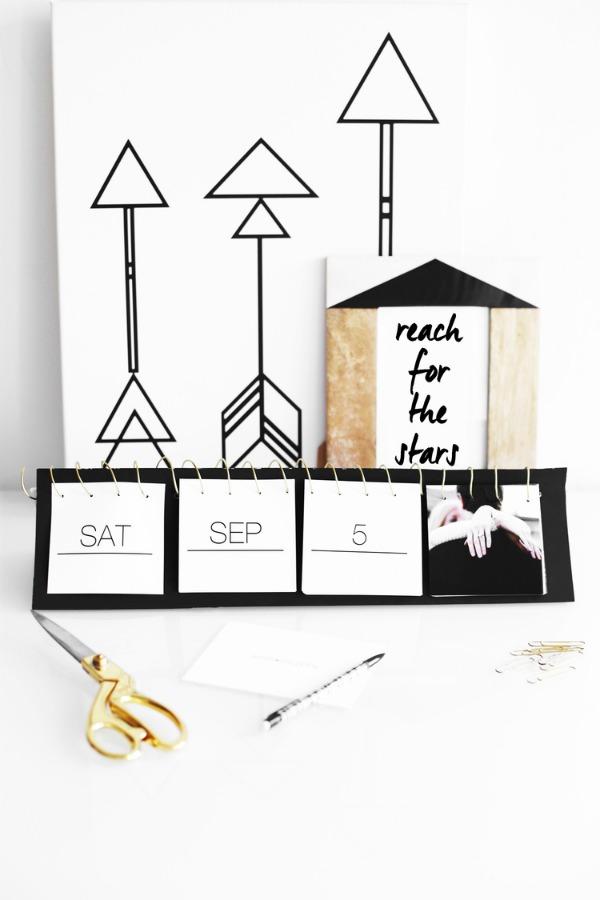 DIY-Instagram-calendar