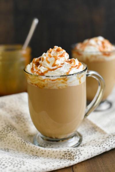 karamellás-kávé