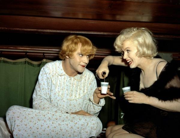Jack Lemmon, Marilyn Monroe Some Like It Hot (1959)
