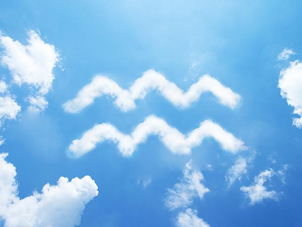 vízöntő-felhő