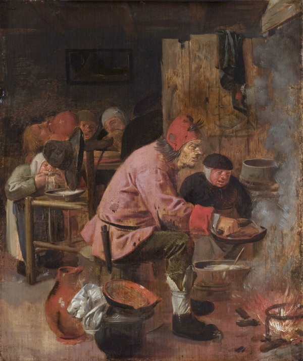 Pancake Baker *oil on panel *34 x 28.4 cm *c. 1625