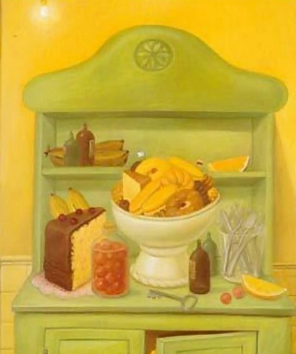 Botero_The-Buffet-1993