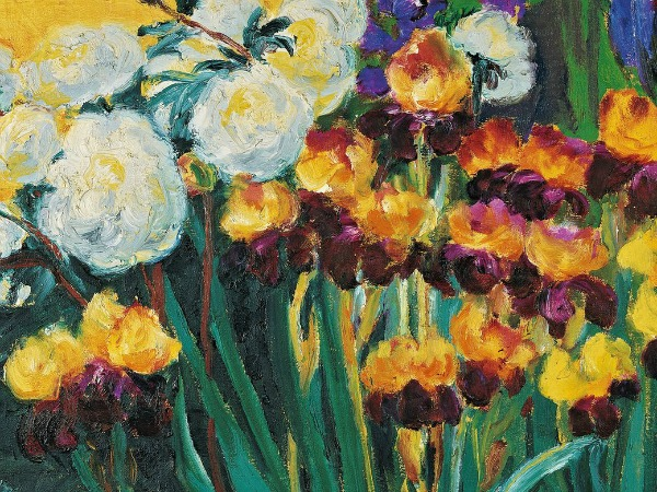 Emil Peonies and Irises