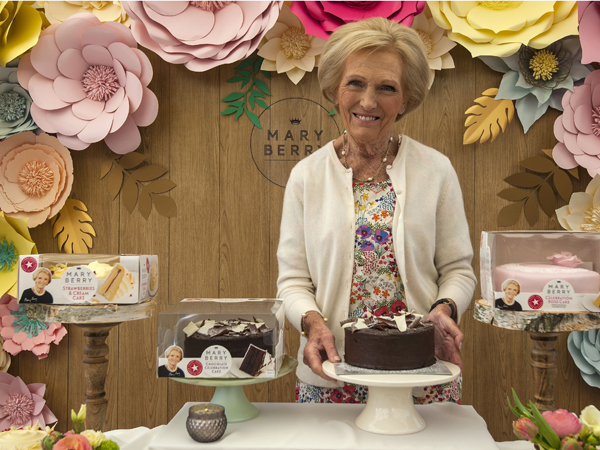 Mary Berry cake launch