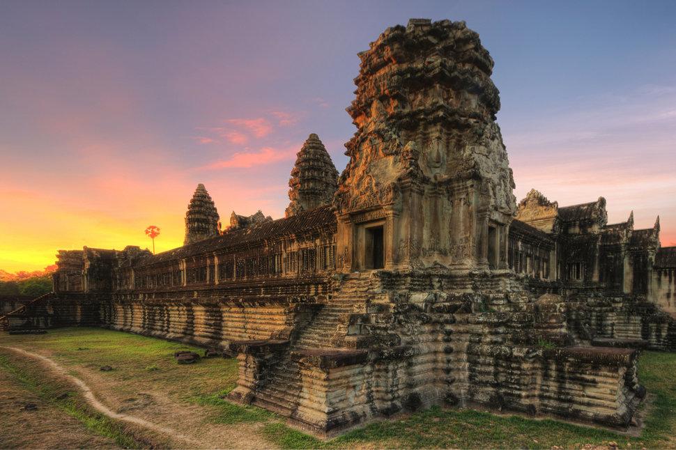 Wat in Siem Reap, Cambodia