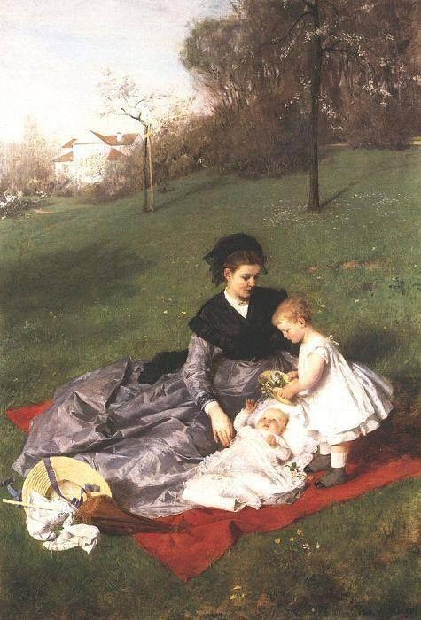 anya és gyermekei