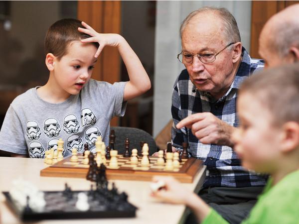 Óvodások az idősek otthonában