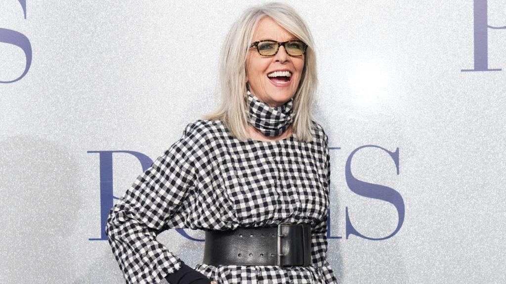 Diane Keaton 75 éves lett
