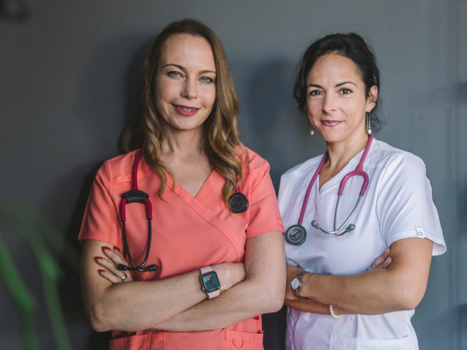 Dr. Farkas Kitti és dr. Bajnok Éva