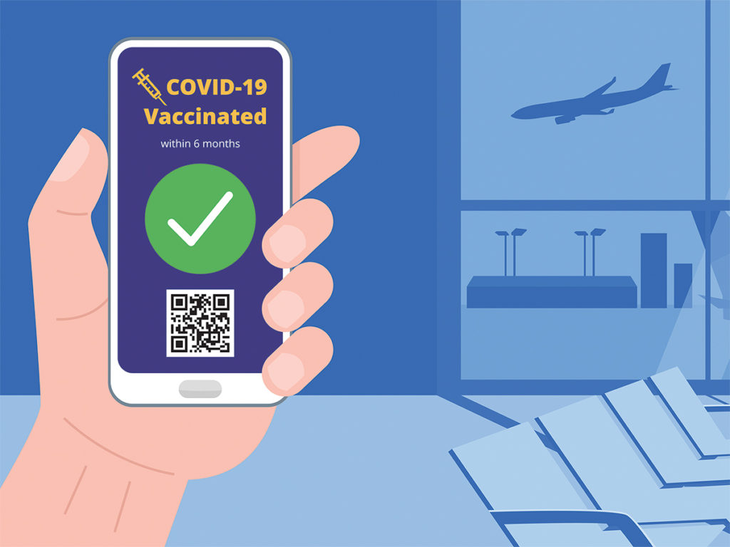 Mire jó a vakcinaútlevél?
