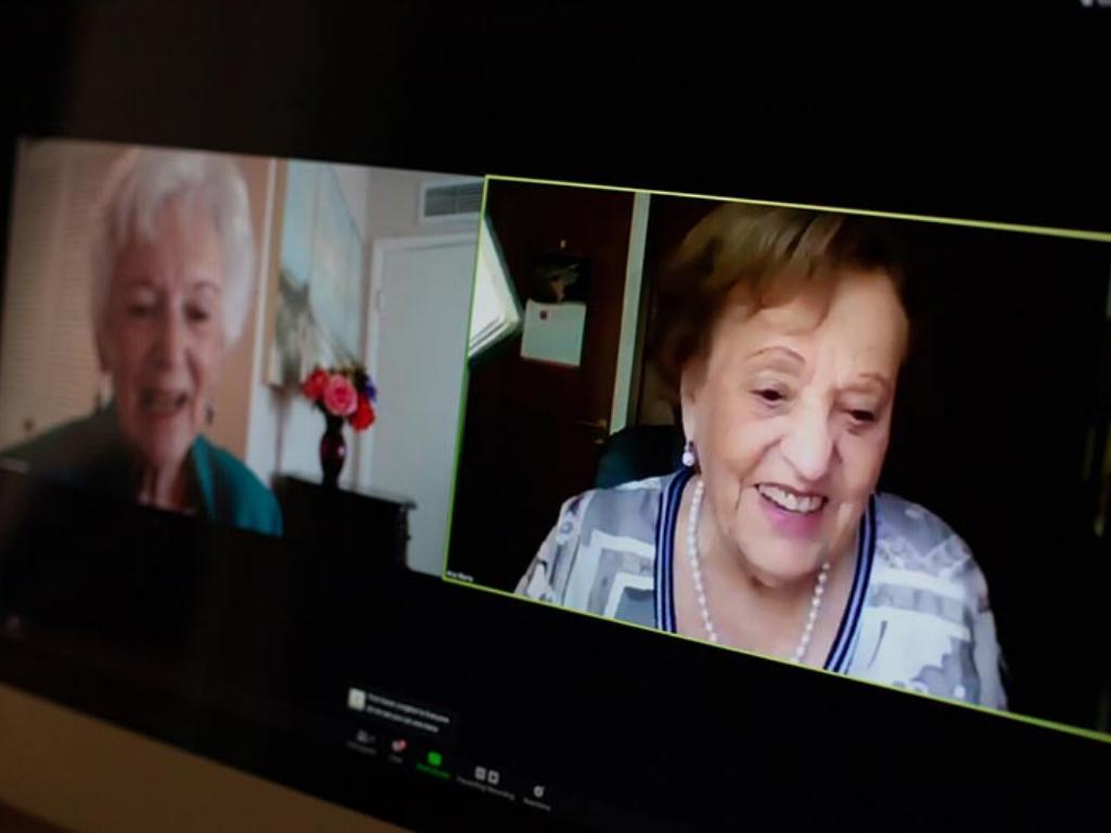 82 évvel azután talált egymásra a két barátnő, hogy a holokauszt szétszakította őket | Nők Lapja
